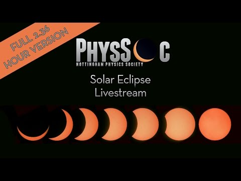 Partial Solar Eclipse 20th March 2015 - PhysSoc Nottingham