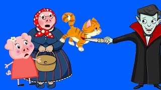 ✔Пеппа Мультфильм Новые серии. Спасти Котёнка… Бабушка в Бешенстве! 4 серия. Для детей на Русском