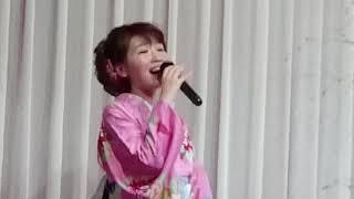 大沢桃子 椿の咲く港 本人映像 カラオケ喫茶花キャンペーン 2018年5月29日