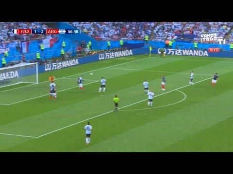 GOL Benjamin Pavard 57' – FRANCIA VS ARGENTINA 2-2