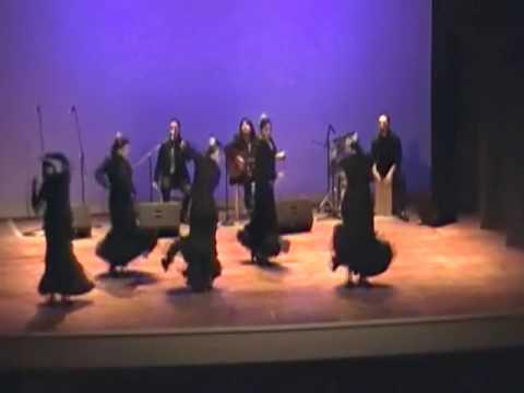 Cia. Flamenco La Triada. Solea Por Buleria. Teatro Municipal Pta Arenas 2012