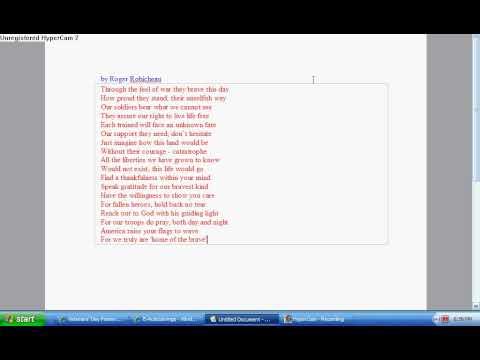 A Veterans Day Poem
