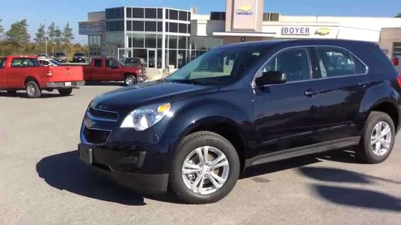 2015 chevrolet equinox fwd 4dr ls | boyer chevrolet lindsay - youtube