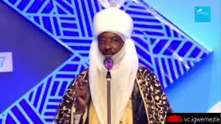 There's No Peace Without Prosperity: Sanusi Lamido Addresses Audience at Union Bank Centenary Event