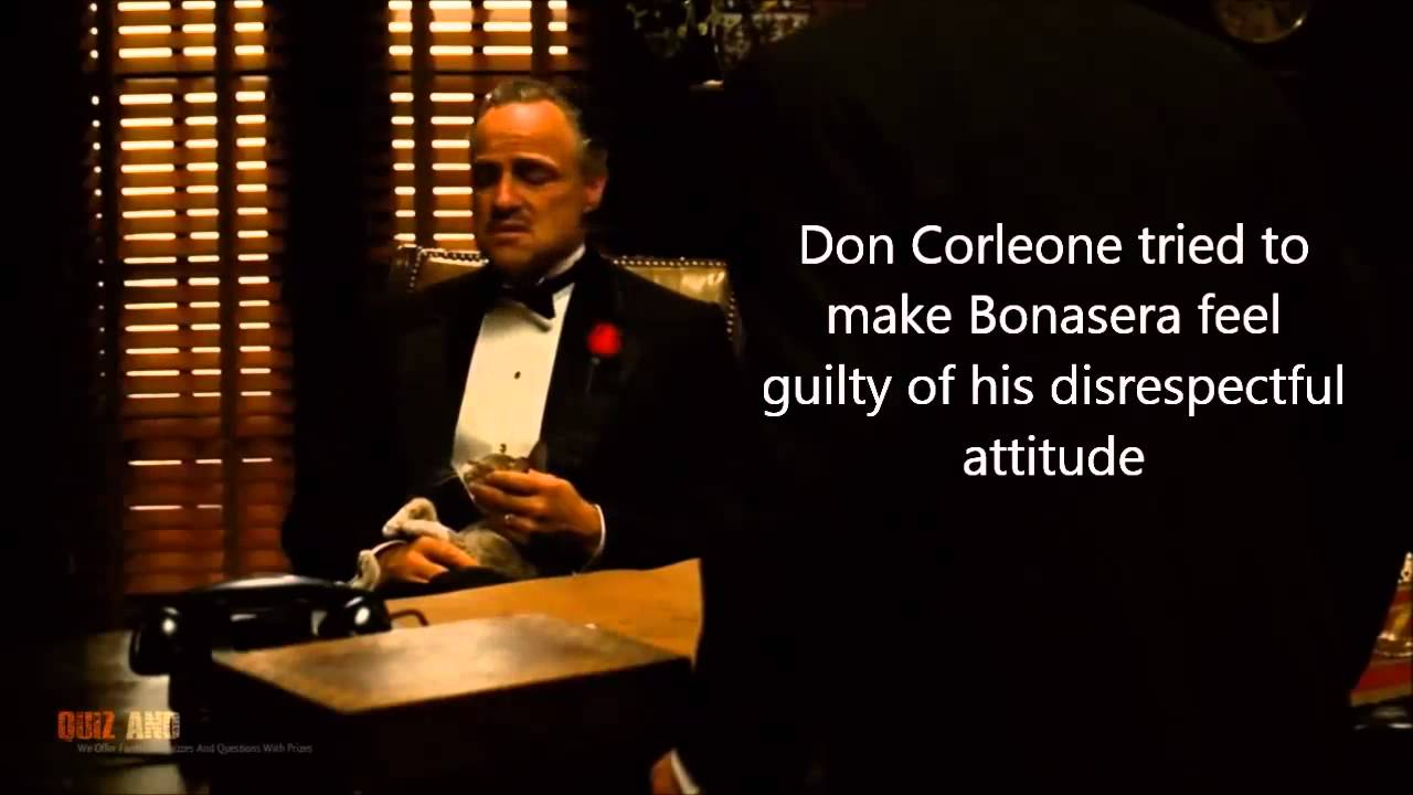 an analysis of the hospital scene in the movie the godfather Shot analysis: the godfather july 23 francis ford coppola's film, the godfather last scene from the godfather.