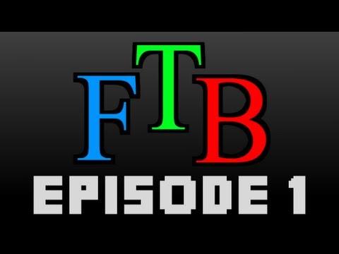 "Minecraft ""Feed The Beast"" Episode 1 - Uranium Filled Pockets"