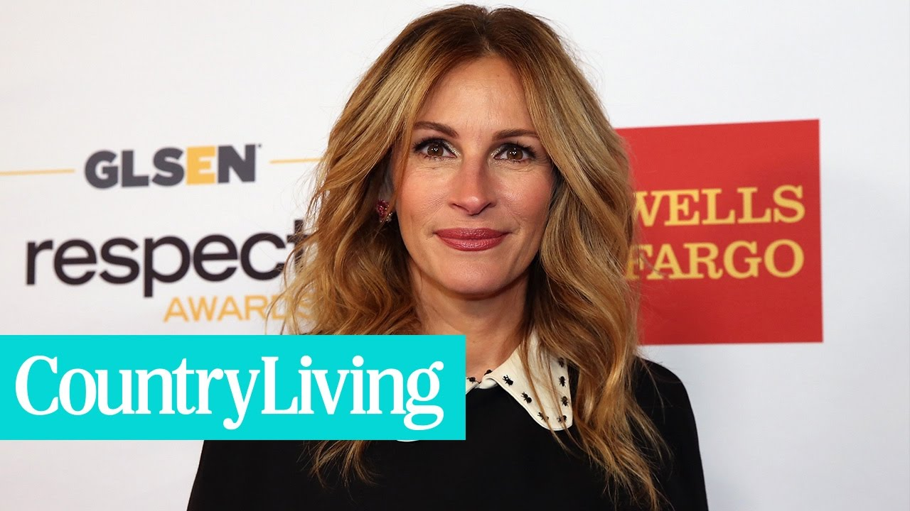 Julia Roberts' Hollywood Evolution | Country Living