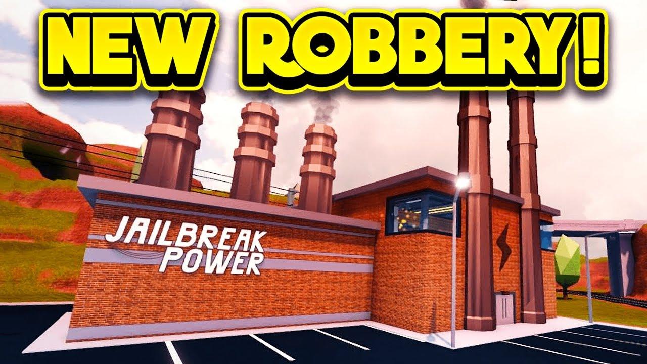 Roblox Jailbreak Power Plant Times New Power Plant Robbery Next Update Roblox Jailbreak Youtube