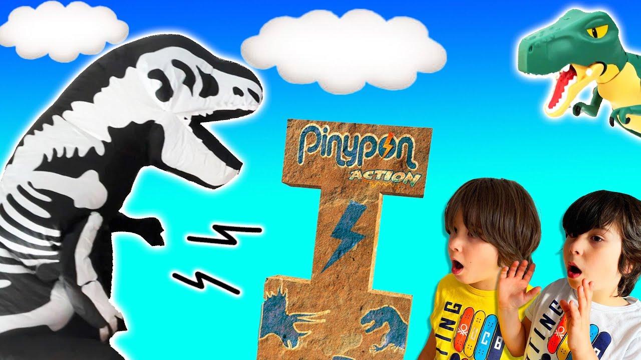 El T-REX MISTERIOSO nos regala PINyPON Action DINOSAURIOS!!