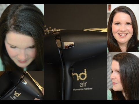 My Everyday Hair Routine & GHD Air Professional Hairdryer Review