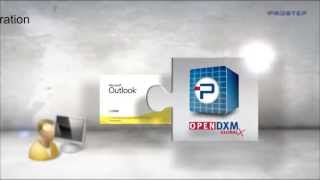 OpenDXM GlobalX Outlook Integration Deutsch