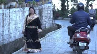 Women from Tibet: Mcleod Ganj Losar slow motion