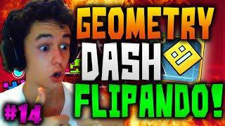 Geometry Dash! Flipando Con Vuestros Nuevos Niveles! #14 - TheGrefg
