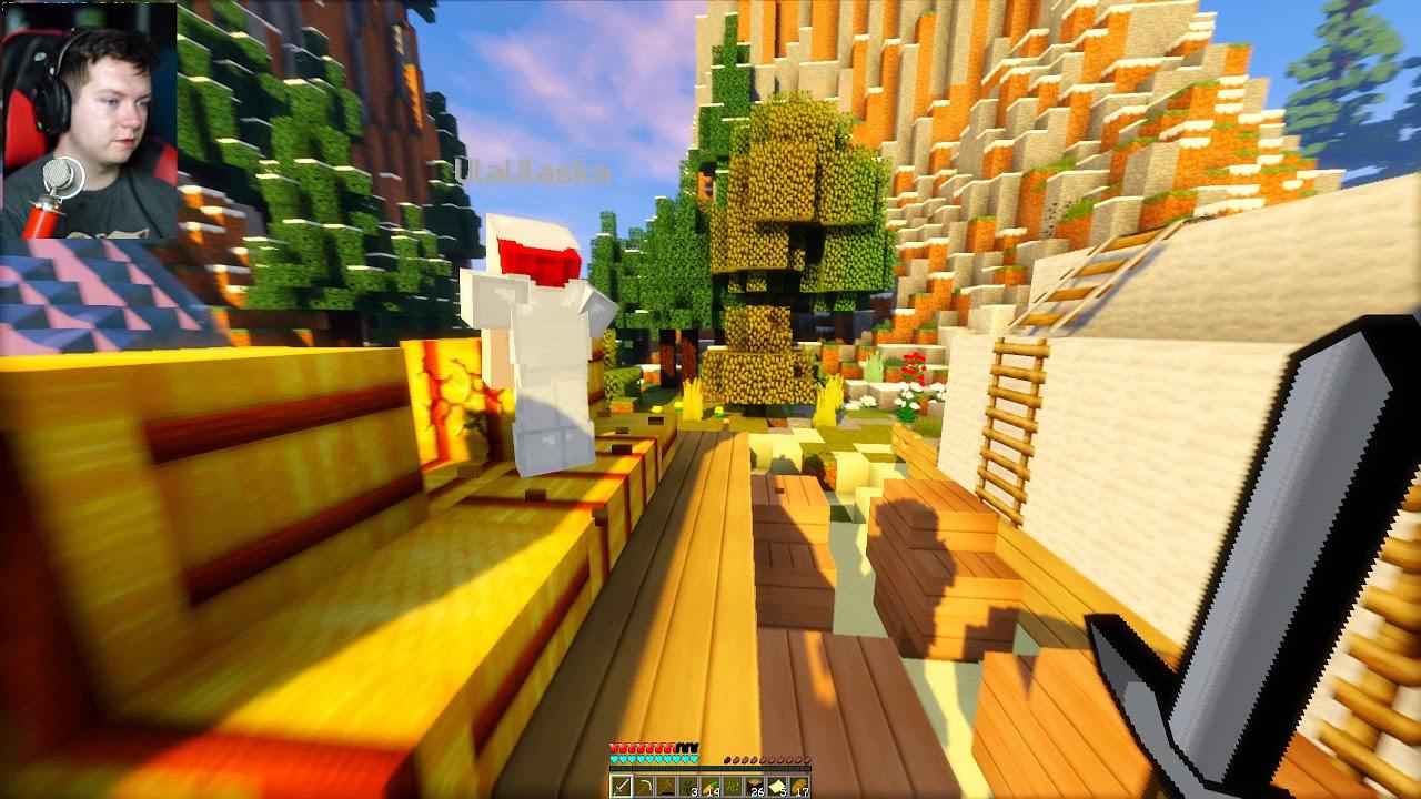 Minecraft Extreme Island Survival #1 | Vertez & Ulaśka