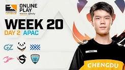 Chengdu Hunters vs Shanghai Dragons | Week 20 | APAC Day 2