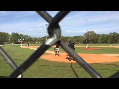 FSU baseball v #4 Wisconsin Whitewater 3/18/16 SP Wallach