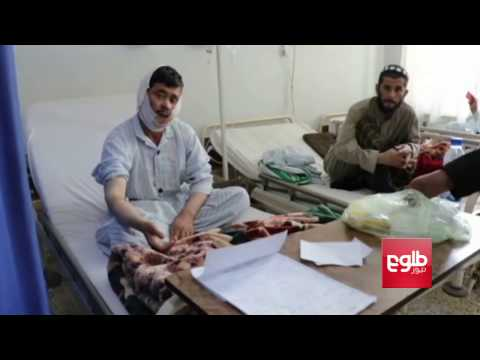 Wounded Afghan Soldiers Speak to TOLOnews About the Army Base Attack In Balkh