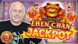 8 FREE GAMES AWARDED! ☯️ High Limit Zhen Chan JACKPOT WIN! 💰