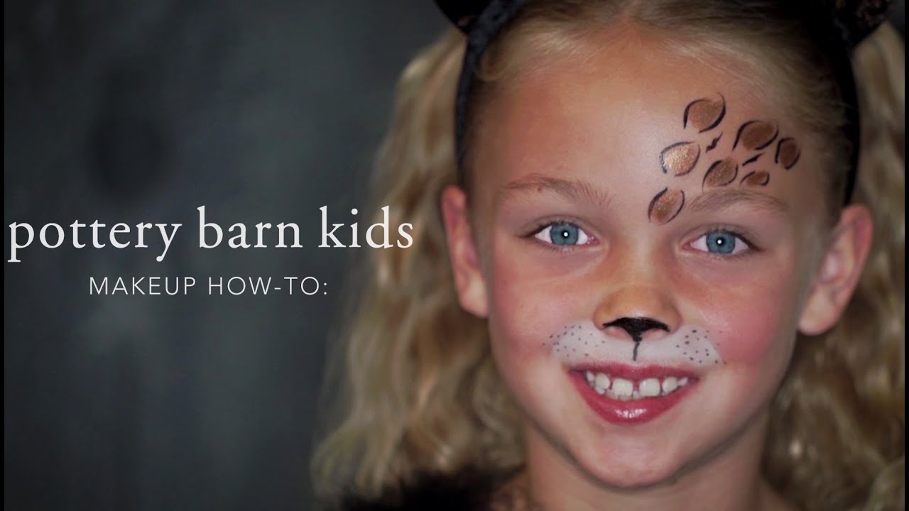 7adc7b4a1b6f Fun Halloween Makeup How To - Leopard Tutu | Pottery Barn Kids Sc 1 St  YouTube