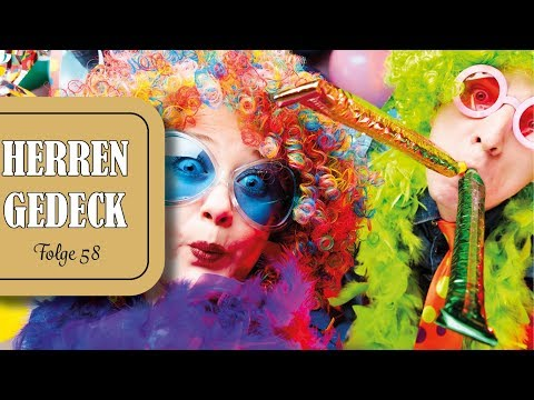 Karneval, Rembrandt und modernes Westfernsehen (Herrengedeck 58)