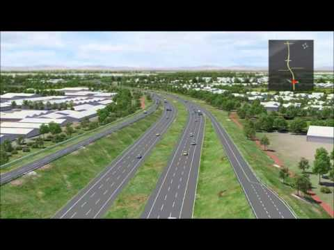 NorthLink WA 3D fly through animation - Southern Section, Guildford Road and Reid Highway