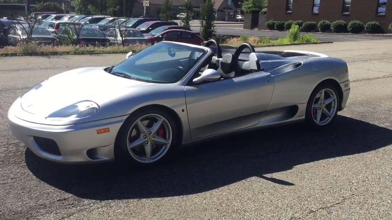2002 Ferrari 360 Modena Spider For Sale Youtube
