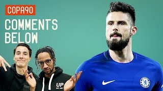 Should Giroud lead Chelsea's attack against Barcelona? Poet and Tim...