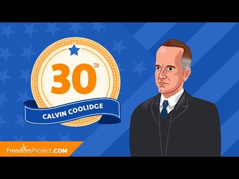 Calvin Coolidge | Presidential Minute