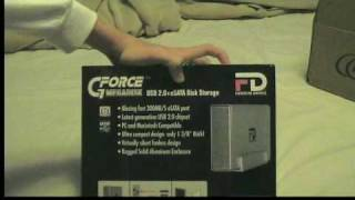 Unboxing: Fantom GForce Megadisk External Hard Drive