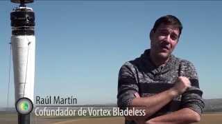 Aerogenerador sin palas de Vortex Bladeless