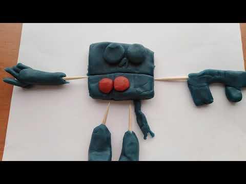 Brawl Stars Virus 8BIT Clay ART