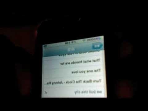 My iphone 3G ringtones