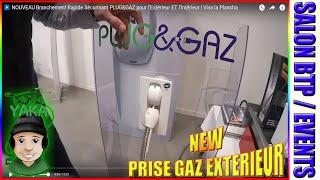 ▶️ NOUVEAU Branchement Rapide Sécurisant PLUG&GAZ pour l'Extérieur ET l'Intérieur ! Viva la Plancha