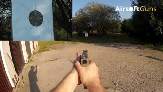 AEP Glock 18C, Cyma CM 030, preview and shooting test