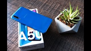 Samsung Galaxy A50 Unboxing & Detailed Overview