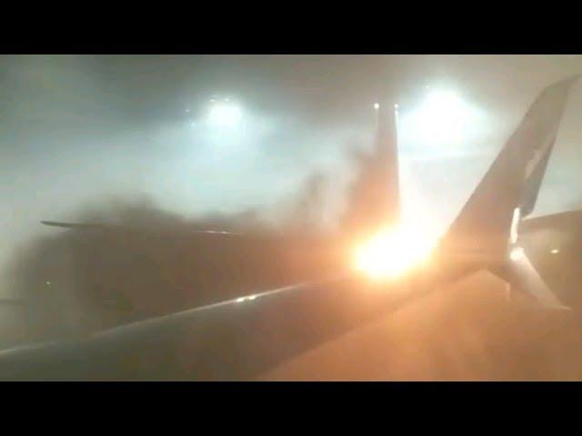 Colisión de dos aviones en el aeropuerto de Toronto