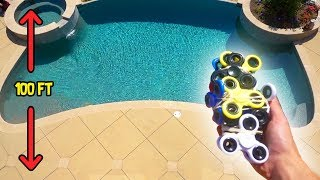 CAN FIDGET SPINNERS PROTECT MY IPHONE FROM 100FT DROP?!