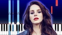 Lana Del Rey - Norman Rockwell (Piano Tutorial)