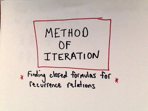 Method of Iteration