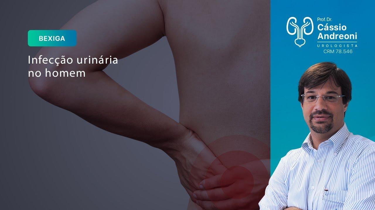 causas da infecção de urina no homem