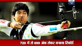 South Korean archer Im Dong-hyun sets world record in London Olympics