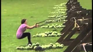 FAIL!! The Amazing Race Watermelon TO THE FACE!