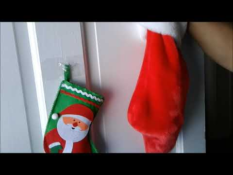 Mandy's Surprised Christmas gifts from Santa