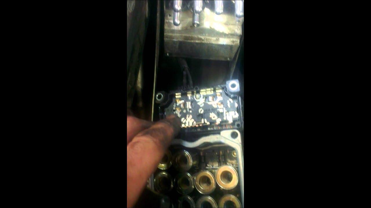 bosch abs pump repair holden commodore warning