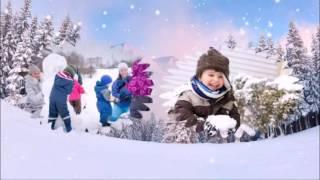 Зимняя сказка (детское слайд шоу на основе картинок из интернета)