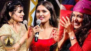 Vani Bhojan's Mesmerising Moments On Stage! Crowd Goes Crazy | Galatta Nakshatra Awards 2019