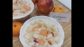 Фруктовый салат в сметанном желе: рецепт от Foodman.club
