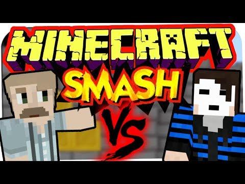 MINECRAFT: SMASH - HerrBergmannLP VS. GermanLetsPlay ☆ Let's Play Minecraft: Smash