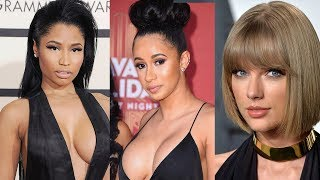 Nicki Minaj Taylor Swift Fans are Trying to STOP Cardi B Bodak Yellow on The Billboard Hot 100