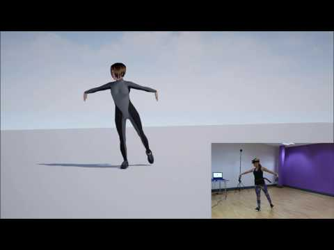 IKinema Orion, real time full body mocap from HTC Vive hardware